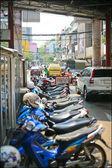 Trafic tôt le matin à bangkok — Photo