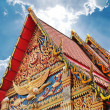 Buddhism temple at Bangkok, Thailand — Foto Stock