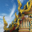 Buddhism temple at Bangkok, Thailand — Stock Photo