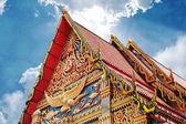 Templo de budismo em bangkok, tailândia — Foto Stock