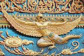 Element Buddhism temple at Bangkok, Thailand — Stock Photo