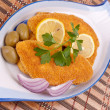 Hake fillets — Stock Photo