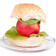 Stock Photo: Appleburger