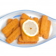 Fish sticks — Stock Photo
