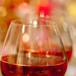 Wine and blurred background — Stock Photo