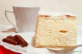 Cream pie — Stock Photo