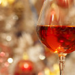 Royalty-Free Stock Photo: Wine and Christmas