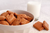 Choco flakes — Stock Photo