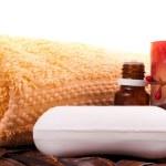 relaxační aromaterapeutická — Stock fotografie