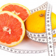 Healthy red grapefruit — Stock Photo