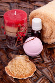 Fragrant bath — Stock Photo