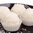 Raffaello balls — Stock Photo