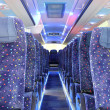 Inside of new bus — Stock Photo #10259407