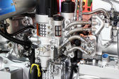 Truck engine detail — Stockfoto