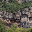 Lycian Tombs - Stock Photo