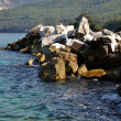 Rock Coastline at Greece island Thassos — Stock Photo #8139885