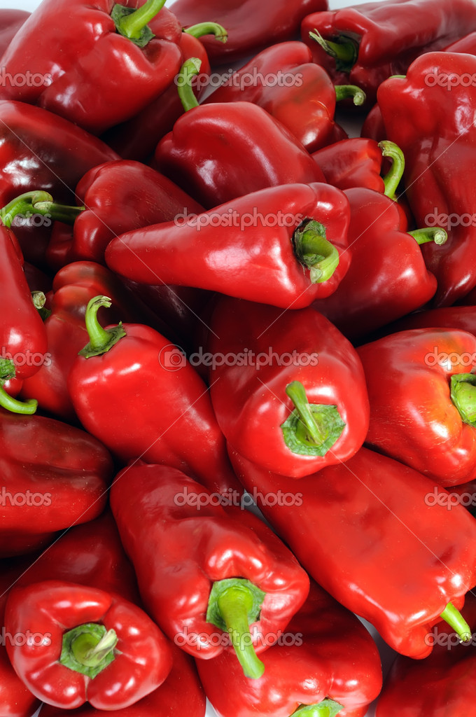 Red Peppers — Stock Photo #8139639