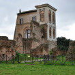 House of Augustus on Palatine Hill in Rome - Stock Photo