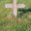 Tombstone cross — Stockfoto