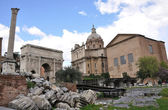 Foro Romano - Roman Forum — Stock Photo