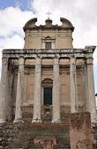 храм в римский форум — Стоковое фото