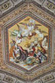 Fresco in Vatican Museum — Stock Photo