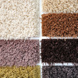 Stock Photo: Carpet colors