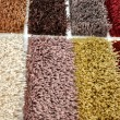 carpet color samples — Stock Photo
