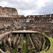 Colloseum - Rome - insiide view — Stock Photo