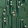 Electronic circuit plate - Stock Photo