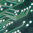 Electronic circuit plate — Stock Photo
