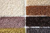 Carpet colors — Stock Photo