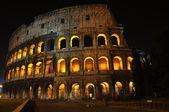 The Colloseum at night — Foto de Stock