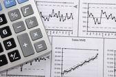 Financiële gegevens — Stockfoto