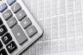 Datos financieros — Foto de Stock