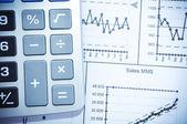 Financial Data — Стоковое фото