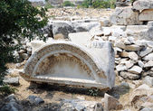 Hierapolis ruins — Stock Photo