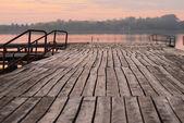 秋天的日落 — 图库照片