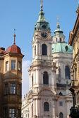 Church in Prague, Czech Republic — Stock Photo