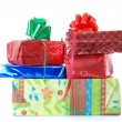 Stock Photo: New Year presents