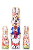 Chocolate rabbit — Stock Photo