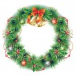 Christmas wreath — Stock Vector #7979059