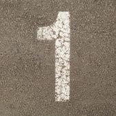 Carpark Number — Stock Photo