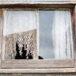 Stock Photo: Old Farmhouse Window