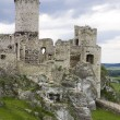 Old castle ruins in Poland in Europe — Stock Photo #8537937