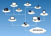 Cloud Network — Stock Photo