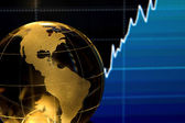 Global Finance — Stok fotoğraf