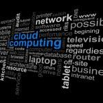 Cloud Computing Word — Stock Vector #8784136