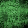 Green concrete wall background. — Stock Photo