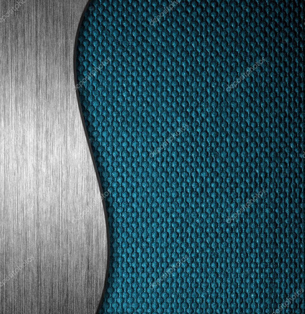 Texture metal and fabric material template background — Stock Photo #9083095